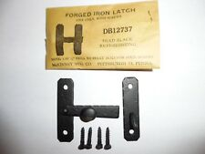 2 - Vintage McKINNEY FORGED IRON Bar Cabinet Cupboard Door Latch NOS DB12737