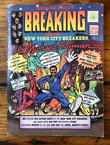 Vintage 1984 Breaking & The New York City Breakers Holman Break Dancing Book Mag