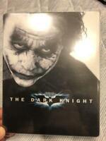 Dark Knight Limited Joker Steel Book ver. Blu-ray 2 disc Japan Import USED