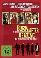 BURN AFTER READING DVD BRAD PITT GEORGE CLOONEY NEU