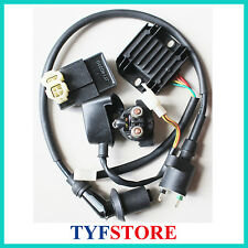 Electric set Ignition coil cdi relay regulator for 125 150cc GY6  ATV Go Kart