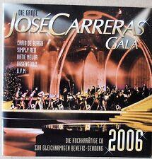 José Carreras Gala 2006 - Chris de Burgh, Simply Red, Rosenstolz u.a. - 2 CDs