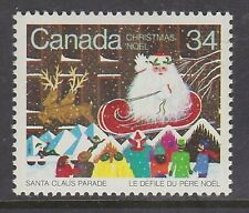 CANADA NO 1067, CHRISTMAS 1985: SANTA CLAUS PARADE,  MINT NH