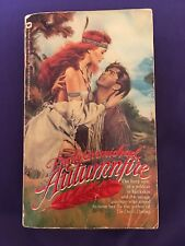 AUTUMNFIRE BY EMILY CRMICHAEL IN SOFT COVER - ACCEPTABLE - FREE SHIPPING