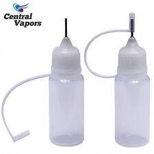 10x 10ml Empty Needle Tip Squeezable Bottles BEST Plastic Bottle