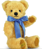 Merrythought 16 Inch  London Curly GoldTeddy Bear w/ Growler US Seller