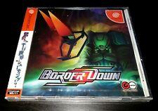 Sega Dreamcast Border Down SHMUP JAPAN NTSC Brand new sealed