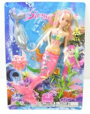 sirena mermaid pretty girl doll ocean dolphin turtle girl doll Xmas gift sets AU