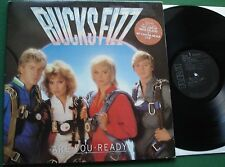 Bucks Fizz Are You Ready inc The Land of Make Believe + LP
