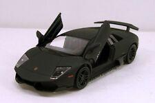 "RMZ Lamborghini Murcielago LP 670-4 SV 1:36 diecast 5"" model car Matt Black R15"
