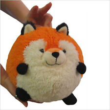 "SQUISHABLE Mini Plush FOX 7"" round stuff animal Amazingly soft NEW in Pkg"