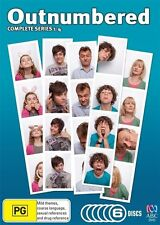 Outnumbered : Series 1-4 (DVD, 2012, 6-Disc Set)
