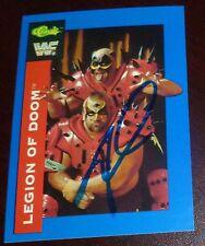 Road Warrior Animal Signed Legion of Doom 1991 Classic WWF Card #146 WWE Auto'd