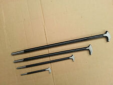 PODGER PRY BAR SET 4 Pc SOLID STEEL FOR FARM ENGINE WORKSHOP 150 to 500mm NEW