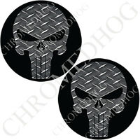Brake Medallion Decal Insert Set For Harley Front Brembo Caliper POW MIA WB
