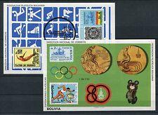 Bolivien Block 100/01 postfrisch / Olympiade ..............................1/731