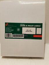 Skilcraft Laser Inkjet 2x4 Address Labels - Box of 2500