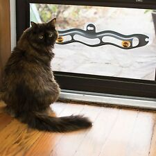 KH EZ Mount Track N' Roll Interactive Glass Window Mounted Cat Ball Toy Gray