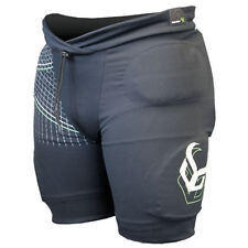 Demon Flex Force Pro V2 Snowboard Impact Protection Padded Shorts Mens - Black Large