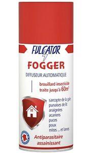 Anti punaises lit araignées acariens puces poux mites Fogger FULGATOR