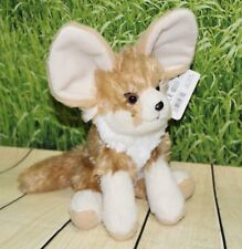 "Wild Republic FENNEC FOX  8"" Plush Cuddlekins Sitting Stuffed Animal NEW"