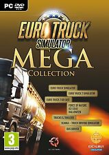 Euro Truck Simulator Mega Collection [PC-DVD Computer, Region Free 7 in 1] NEW