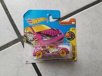 "Mattel Hot Wheels  -in  org.  Box - Volkswagen Golf MK 7  ""HW Art Cars"""