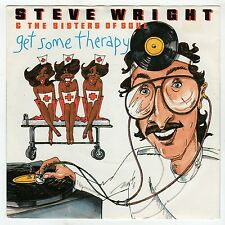 (HG322) Steve Wright & The Sisters of Soul, Get Some Therapy 1983 - 7 inch vinyl