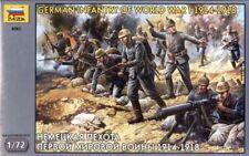 Zvezda 1/72 Escala Alemán Infantería Primera Guerra Mundial