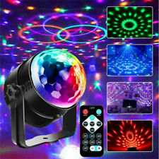 Disco Lichteffekt LED Discokugel DJ Party RGB Bühnenbeleuchtung Fernbedienung EU