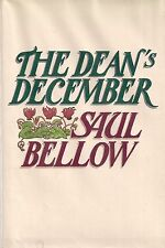 """SAUL BELLOW """"The Dean's December"""" (1982) SIGNED First Printing"""