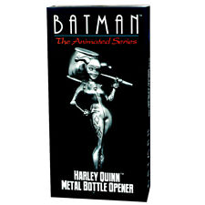 Batman The Animated OFFICIAL Harley Quinn Magnetic Metal Bottle Opener NEW MIB