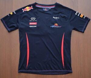 Red Bull Racing Formula One Team Womens T-Shirt Top sz M