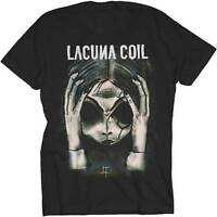 LACUNA COIL - Head - T SHIRT S-M-L-XL-2XL New Official MerchDirect Merchandise