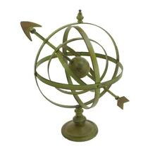 Large Metal Armillary Sphere with Arrow Garden Lawn Yard Garden Decor Gift