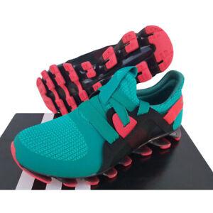 Adidas Spring Blade Nanaya Running Shoes Jogging Trainers Ladies Green New