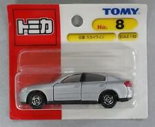 Unopened TOMY JAPAN Tomica #8 NISSAN SKYLINE 1/62 BLISTER CARD PACKING
