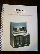 Seeburg Model LS1 Jukebox Manual
