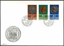 Liechtenstein 1978 MONETE FDC primo giorno Coperchio #C 22102