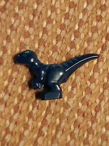 LEGO Dark Blue Baby Raptor Dinosaur - 37829pb03 - sets 70820 70829