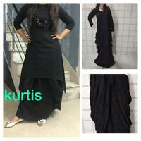 Indian Bollywood Designer kurta with dhoti  Kurta Kurti women ethnic dress -na16