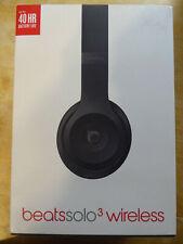 BEATS by Dr. Dre Solo3 Wireless Headphones - Matte Black - New in Open Box