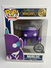 Funko Pop! Games World Of Warcraft #33 Murloc Metallic Blizzard Exclusive