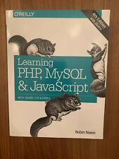 Learning Php, MySql & JavaScript By Robin Nixon 4th Edition W/ Jquery