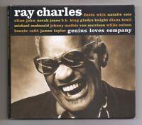 Ray Charles-Genius Loves Company-2004 CD Digipak-Easy Listening