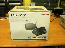 PIONEER TS-77 SURFACE MOUNT TWO WAY SPEAKER SYSTEM. NUEVO. OLD CAR¡¡