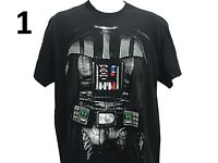 Star Wars Darth Vader Sith Lord Movie Costume Cosplay Men's T shirt 3 Styles