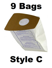 Style C Eureka Vacuum Bags Fits Old Style Mighty Mite Vacuums 52318B 9 BAGS