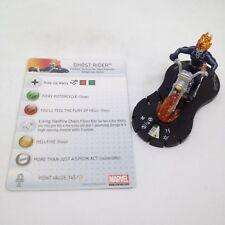 Heroclix Amazing Spider-Man set Ghost Rider #046 Super Rare figure w/card!
