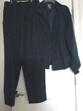 NWOT 2PC Set Blue Chereskin Sports Zip-Down Jacket And Pants Silk Rayon Mens L